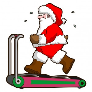 Santa-treadmill
