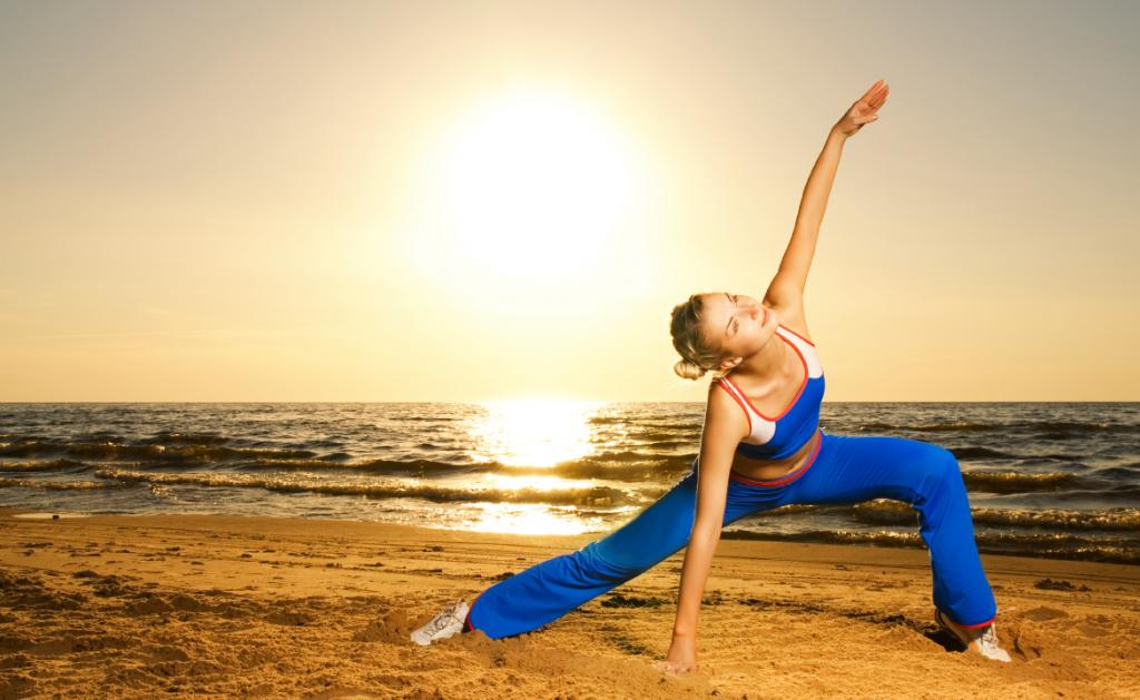 yogadamestrand